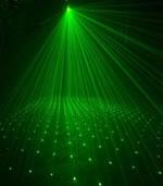 Объемно-проекционный лазерный эффект